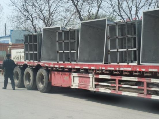 山西客戶日產十噸豆芽生產線裝車