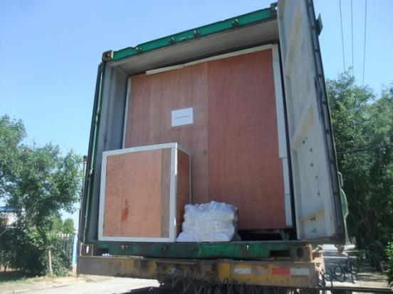 出口拉丁美洲設備裝箱